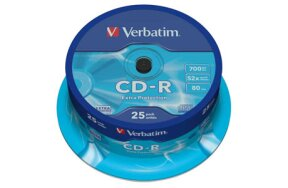 CD-R VERBATIM CAKEBOX 25PCS